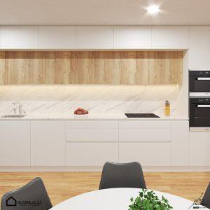 interior decoración diseño en 3d Cocina