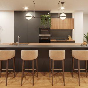 interior decoración reforma Cocina
