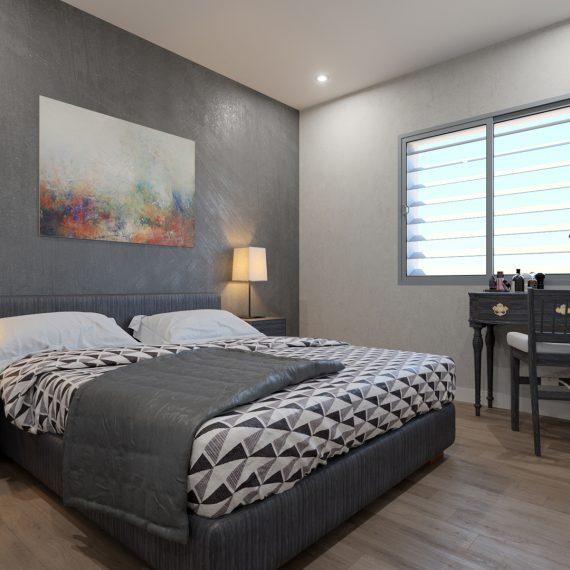 Dormitorio vivienda pasiva grupo ag